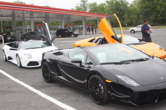 IMG_1001 (Lamborghini obsessed) Tags: paul lamborghini harrington murcielago gallardospyder 5604 lp640 valentinobalboni lp640roadster gallardocoupe dreamcarlegendstour
