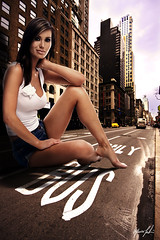 NY - Morena Corwin (Maurizio Contini) Tags: ocean park street new york city nyc travel bridge windows light vacation sky people panorama horse woman usa holiday ny storm reflection building sexy window water girl car statue skyline architecture brooklyn clouds america skyscraper river garden dark giant square liberty island pier us model iron artist state geometry alice manhattan united north central broadway dramatic police nypd atlantic madison empire hudson states crosswalk avenue wonderland 5th flatiron nord fifth maurizio rockfeller contini