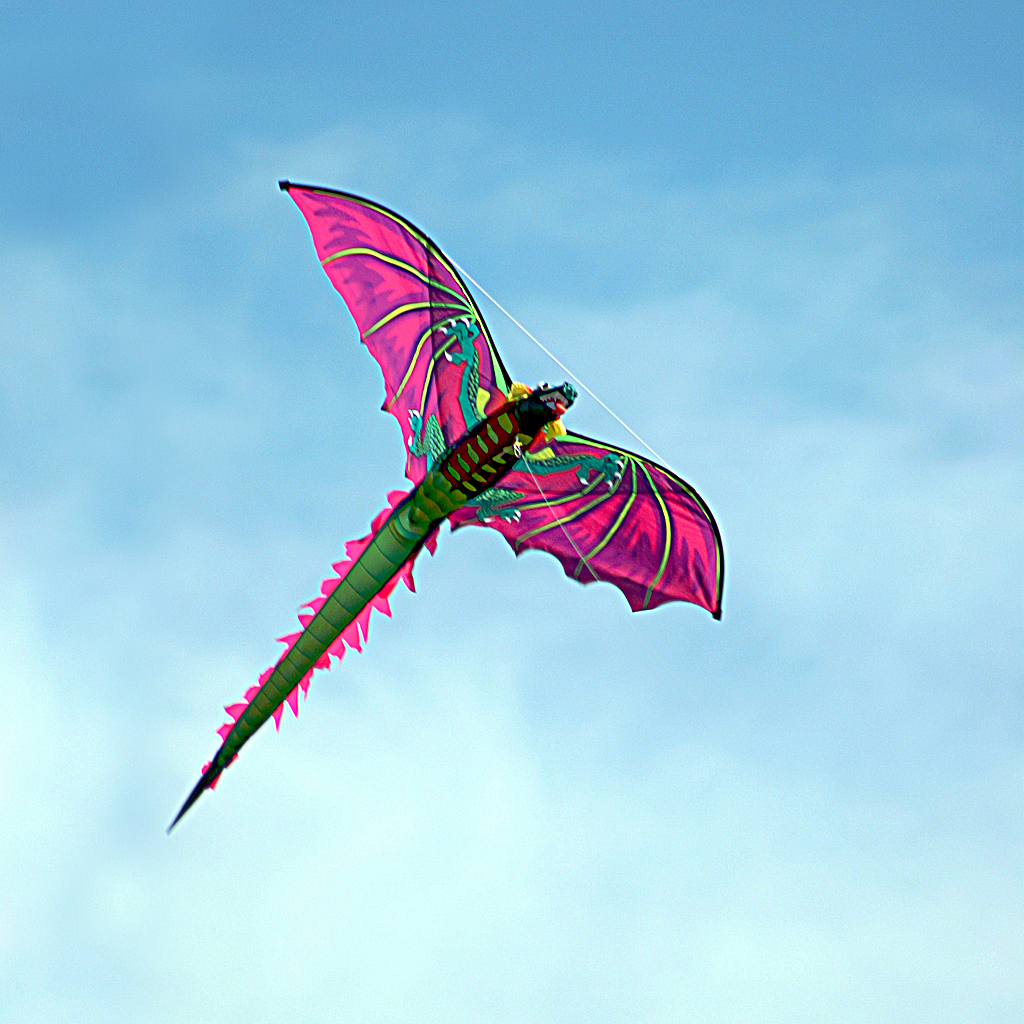 dragon kite  wallpaper for iPad and iPhone    Notes From The