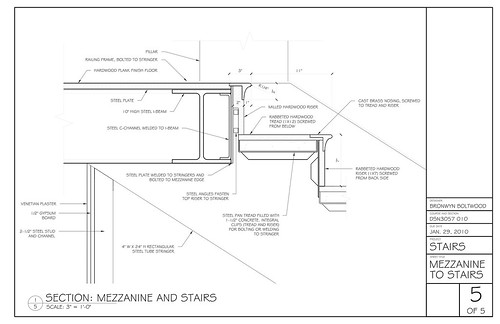 Stair detail in AUTOCAD DRAWING | BiblioCAD