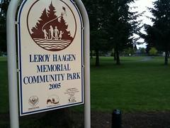 LeRoy Haagen Memorial Community Park