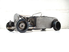 Hot Rod Metal Sculpture