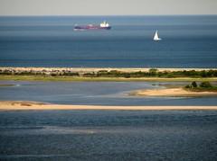 Hofbrauhaus View Over Sandy Hook (aka B
