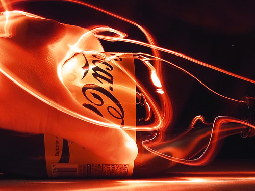 Cola 04 /Light painting