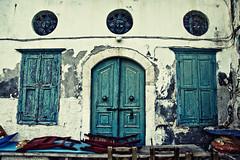 Complicated (Melissa Maples) Tags: door blue windows nikon europe decay greece shutters nikkor vr afs meis 尼康 kastellorizo megisti dodecanese 18200mm f3556g d40 ελλάδα ニコン 18200mmf3556g kastelorizo ελλάσ καστελλόριζο μεγίστη
