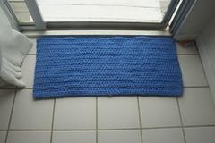Blue Cotton Rug