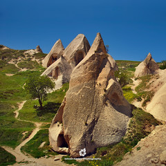 Houses in the Volcanic Rocks (fesign) Tags: turkey landscape province cappadocia anatolia kapadokya nevşehir καππαδοκία housesinthevolcanicrocks