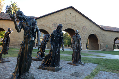 The Burghers of Calais, Stanford University