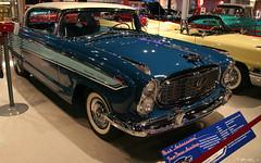 1957 Nash Ambassador 2d htp - Pacific Blue Solitaire Blue Frost White - fvr