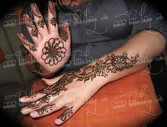 a mini mini bridal (HennaLounge) Tags: feet hands henna mehndi