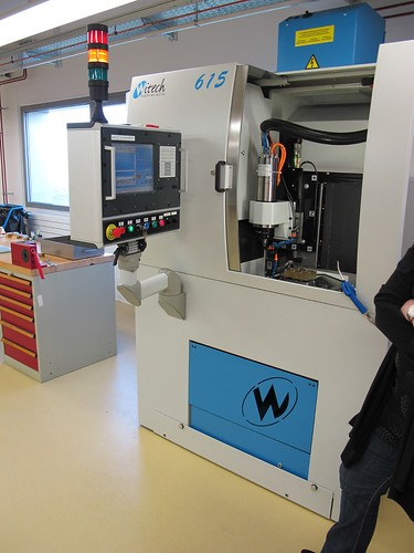 The Witech 615 Machining Center