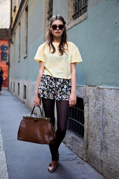 """Возглавит эту серию.  Уличная мода.   """"Уличный стиль: Саманта Ронсон."""