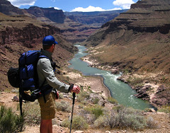 Colorado River, Grand Canyon National Park, Arizona (Bryan-Long-Photography) Tags: park travel southwest water creek river hall bill waterfall colorado desert hiking grandcanyon grand canyon deer national backpacking springs thunder narrows trailhead kaibabnationalforest northrimgrandcanyon indianhollow northrimofgrandcanyon tapeats monumentpoint forestroad22 jugpoint