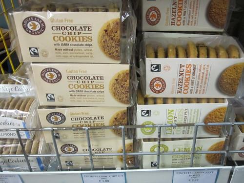 Doves Farm Organic Gluten Free Cookies - Vegan