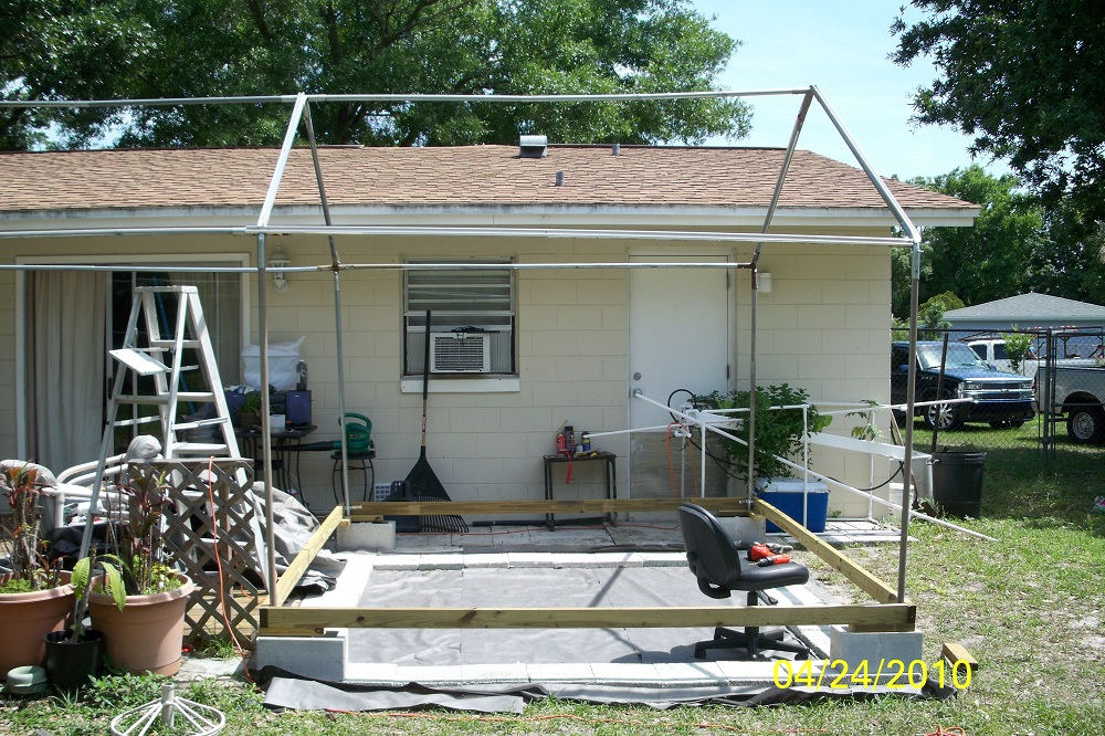 Greenhouse - Carport Frame