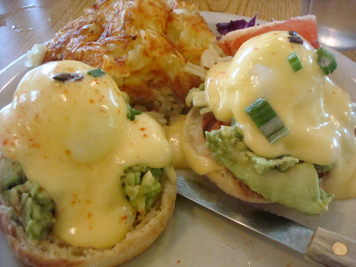 """Californian"" Benedict, Glo's Coffee Shop, Seattle"