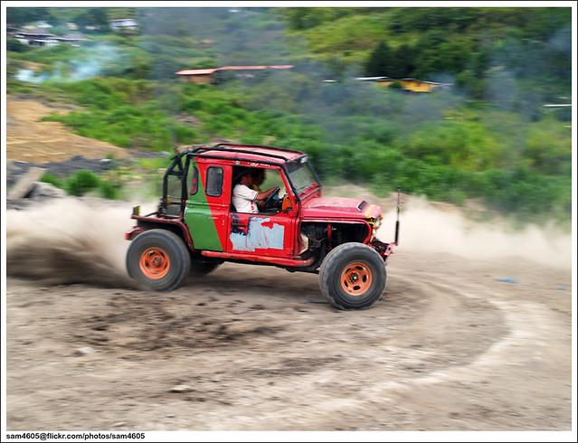 Cabaran 4x4 Novis Kundasang - Landrover Defender Drift