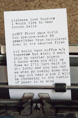 Manual Typewriter Tweets 06
