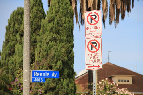 New Vehicle Signs Venice Beach