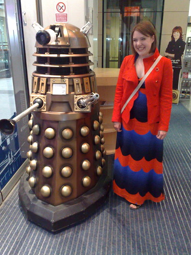 me and a Dalek
