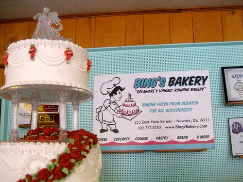 Bing's Bakery Wedding Cakes