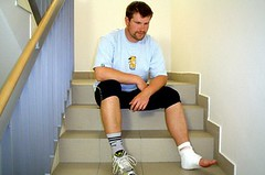 Vymknutý kotník – nenápadné zranění s vážnými následky