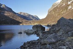 Rando  Mnafossen (thomaspollin [thanks for 1.5 million views !!!]) Tags: panorama lake norway see norge europa europe day thomas norwegen lac panoramic clear valley tal panoramique rogaland valle norvge pollin mnafossen thomaspollin