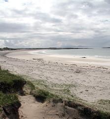 Balranald Beach North Uist (splib1) Tags: uk blue sea mountain seascape nature water landscape grey coast scotland sand wave calm shore serene wilderness uist hebrides rspb scottishlandscape scottishviews balranald rspbreserve splib1