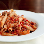 Penne with Hearty Beef Ragu