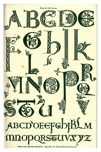 001-Siglo XII-The hand book of mediaeval alphabets and devices (1856)- Henry Shaw