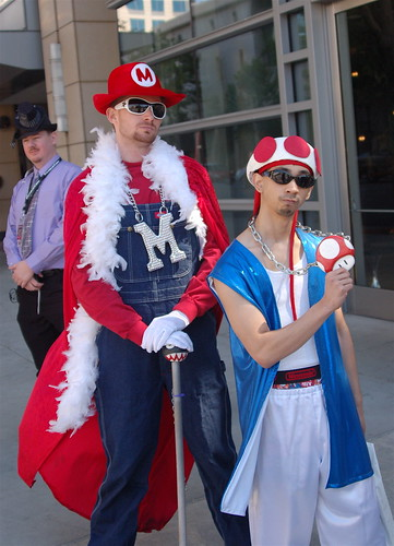 FanimeCon 2010: Mario Is a Pimp