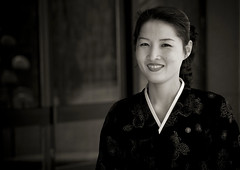 Pyongyang beauty - North Korea (Eric Lafforgue) Tags: woman cute beauty smile war asia korea explore asie coree sourire northkorea pyongyang dprk coreadelnorte nordkorea 3954    coreadelnord   insidenorthkorea  rpdc  kimjongun coreiadonorte