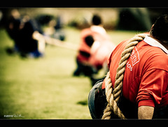 Blackford Highland Games - Tug of War (David Hannah) Tags: colour men green wet grass rain sport canon pull scotland teams team focus war dof arm o or contest perthshire scottish wrapped competition games rope highland perth anchor strength tug shallow moat tamron pulling 70200 eight f28 zone twine struggle tussle brute locking blackford hemp strain decisive neutral gaels tugging 40d goidels