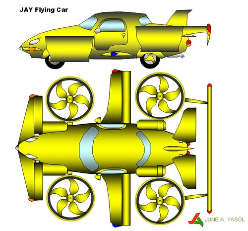 JAY Flying Car Schematic Finish