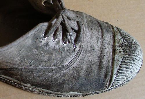 dirty shoe