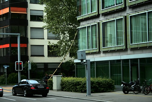 Window Washing in Zurich