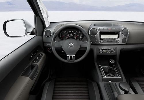 amarok interior do carro