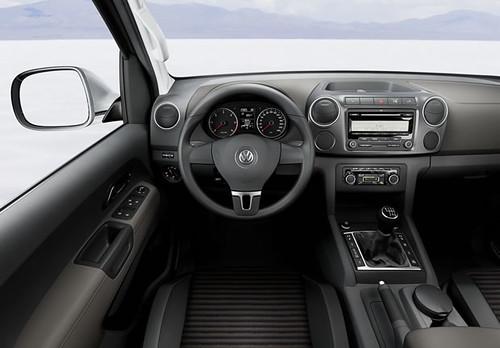 amarok interior do carro