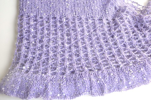 beaded mohair shawlette-9