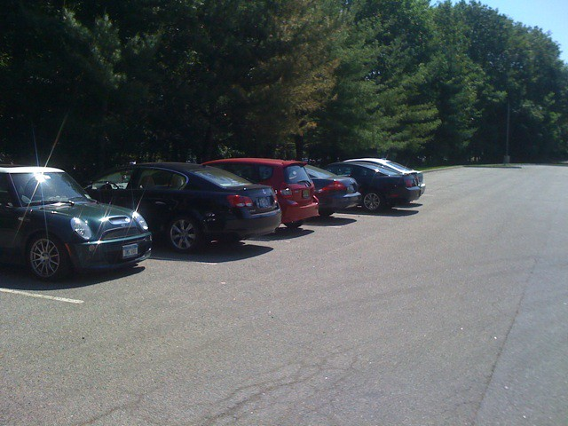 Memorial Day Office Parking Lot