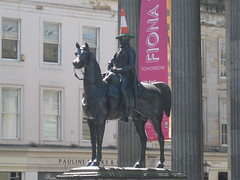 Duke of Wellington statue outside the Gallery