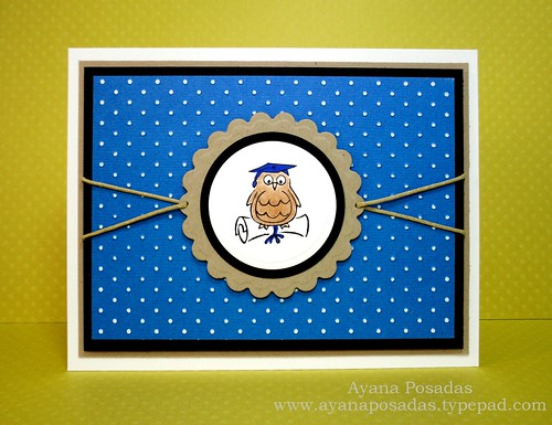 Graduation Owl- Blue (1)