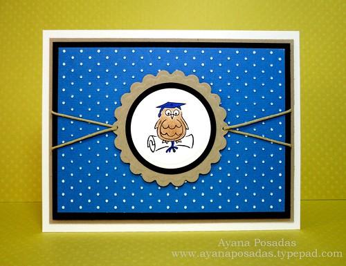 Graduation Owl- Blue (1)