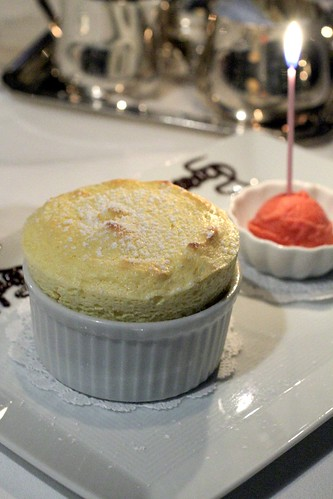 Mango Souffle and Strawberry Sorbet 3
