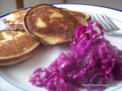 Chicken Pancakes, Kraut
