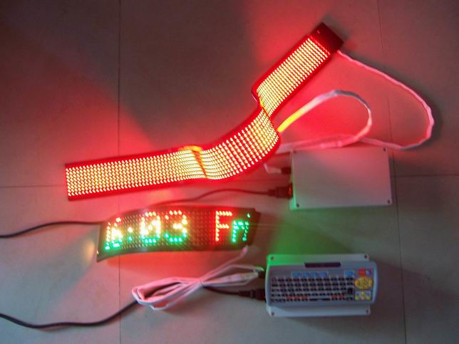 Flexible led sign