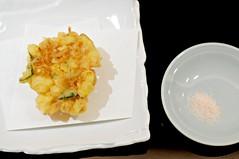 Corn tempura, Tatsuya, Goodwood Hotel