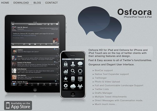 Osfoora HD for Twitter