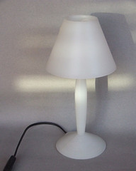 Lamp by Philippe Starck ca-2000 (A30yoyo) Tags: millenium pure purity absenceofcolour clearpolypropylene