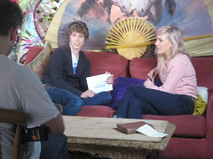 Ellie Goulding on Sony Ericsson's Pocket TV (Pocket TV) Tags: sonyericsson pockettv elliegoulding mattedmondson